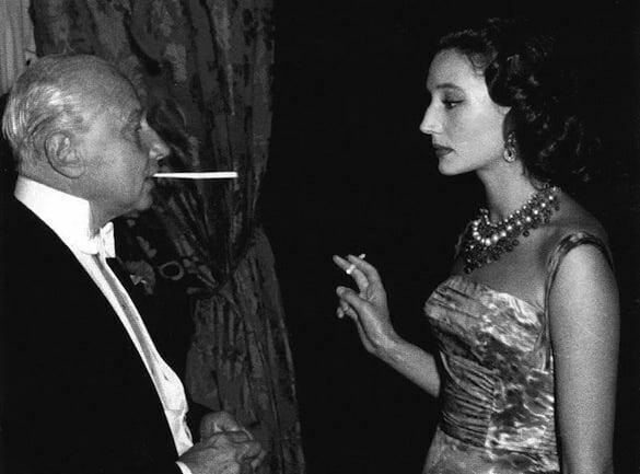 Jacqueline de Ribes with Carlos de Beistegui