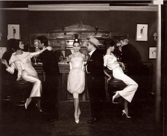 audrey hepburn maxim's paris, 1959