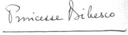semnatura M. Bibescu