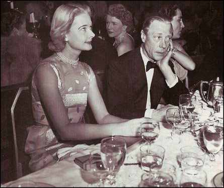 the former King of England at the Knickerbocker Ball at the Waldorf-Astoria, December 1951