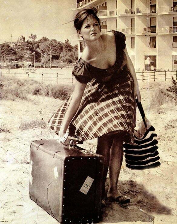 Claudia Cardinale, La ragazza con la valigia