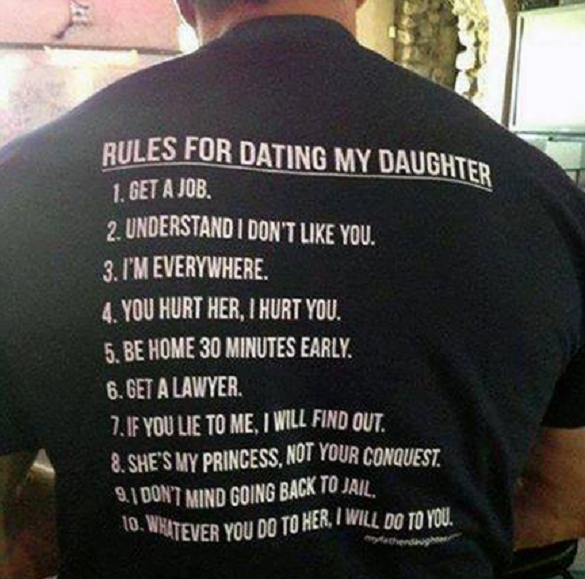 tricou dating my daughter