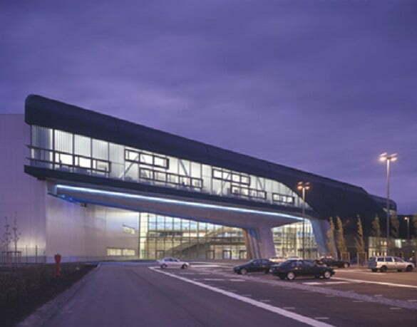 BMW Central Building, Leipzig, Germany