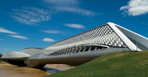 Bridge Pavilion, Zaragoza, Spain1