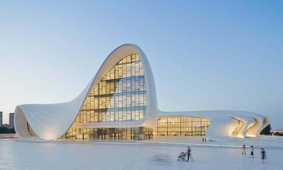 Heydar Aliev Centre in Azerbaijan