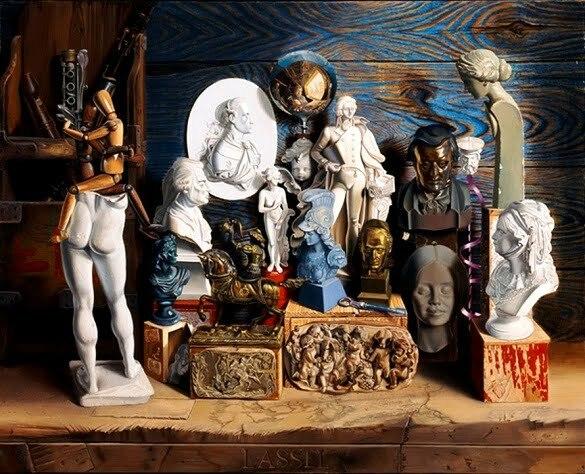 Michael Lassel, Intermundi, 2004 65 x 81cm …l auf Leinwand