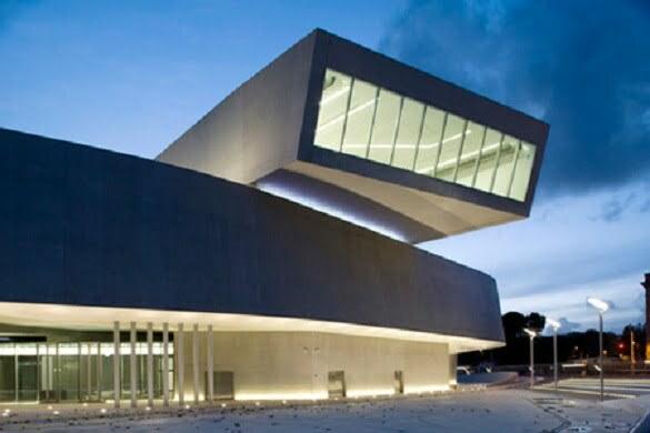 MAXXI National Museum of 20Century Arts Rome, Italy