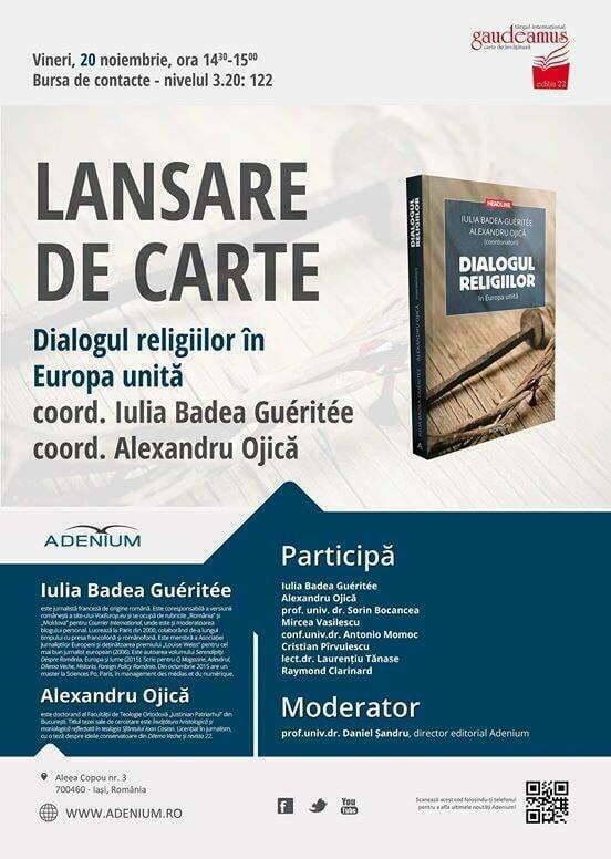 lansare carte religii