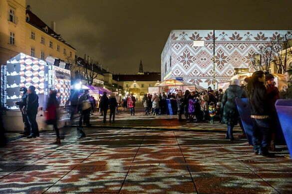 Leopold Museum, MQ, Museumsquartier, Winter im MQ, Weihnachtsmarkt in Wien, Österreich