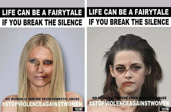 Violence Against Women Posters!