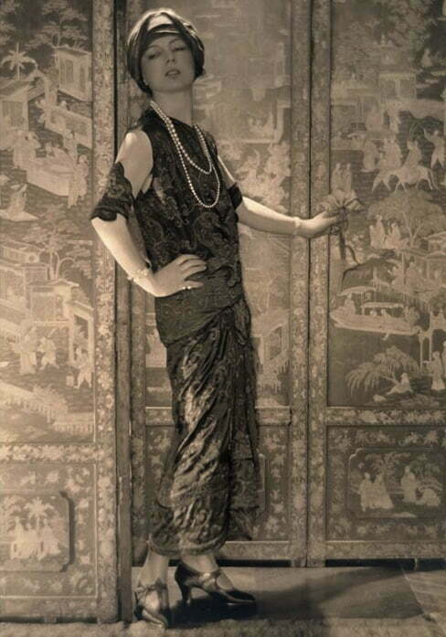 Jeanne toussaint la 33 ani la panthere1920
