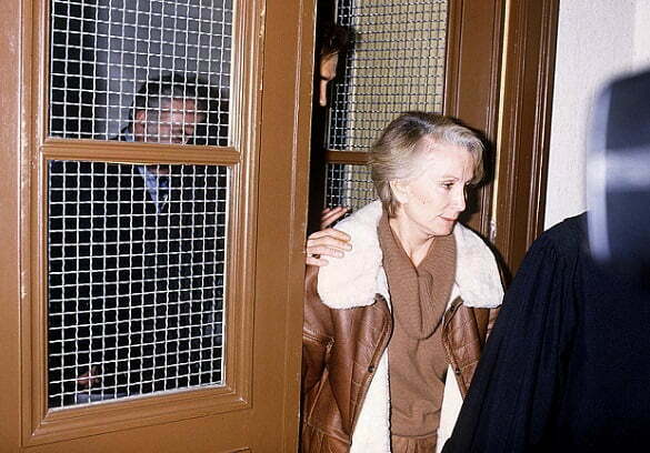 Madame Claude after her arrest in 1986