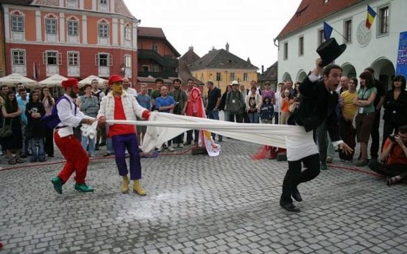 siubiu, in timpul manifestarilor culturale 2007