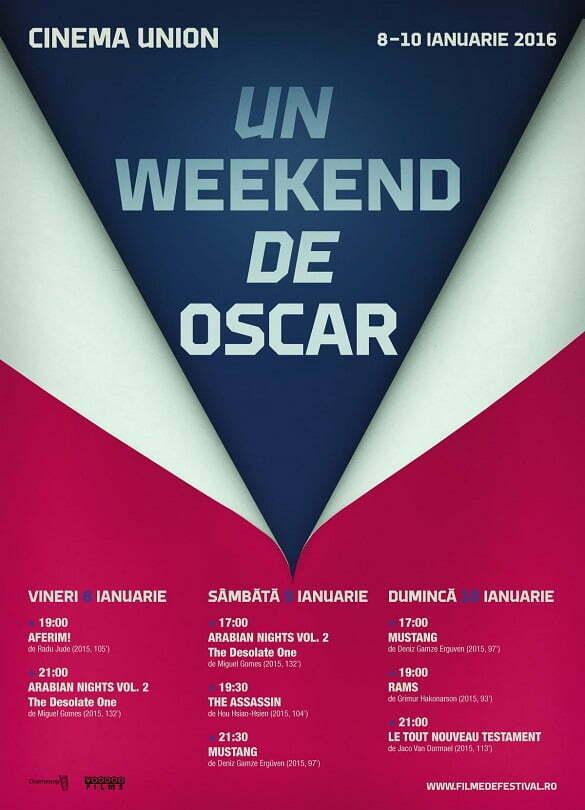 Afis_Un weekend de Oscar