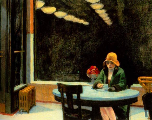 Edward Hopper - Automat (1927)