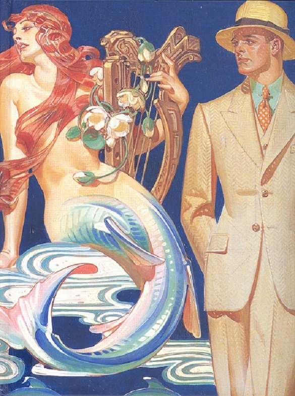 Illustration by J.C. Leyendecker. MALINA