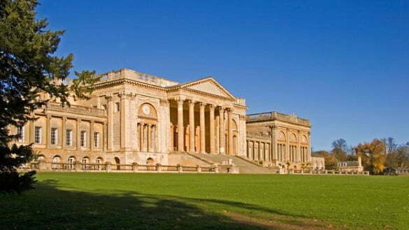 South Front of Stowe School Buckinghamshire England UK. Image shot 2006. Exact date unknown.