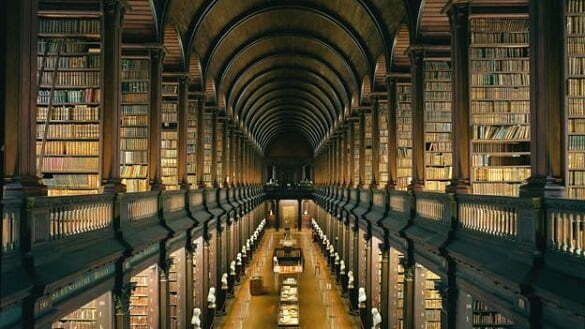 Library at Trinity College, Dublin - The Long Room