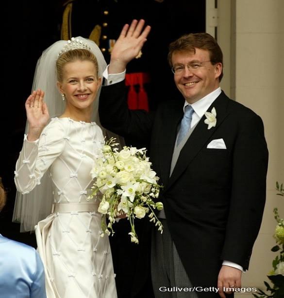 Prințul Johann Friso al Olandei și Mabel  Wisse Smit