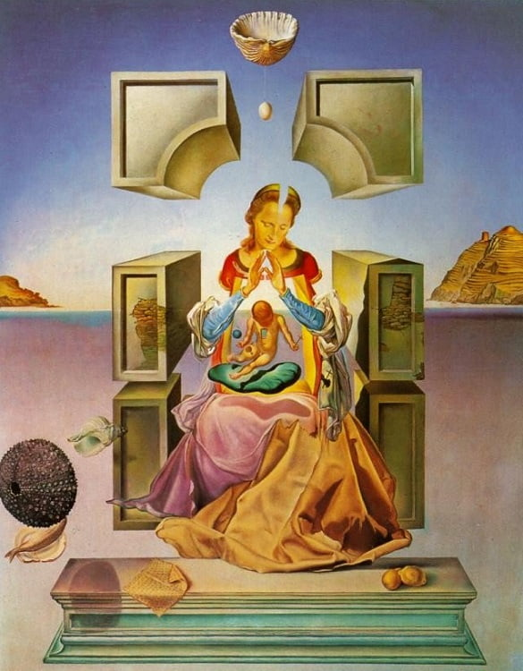 31949-02-The-Madonna-of-Port-Lligat-first-version-1949