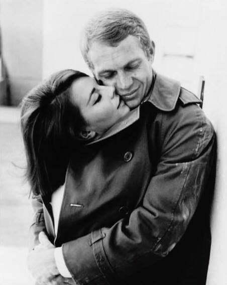 Steve McQueen and Natalie Wood