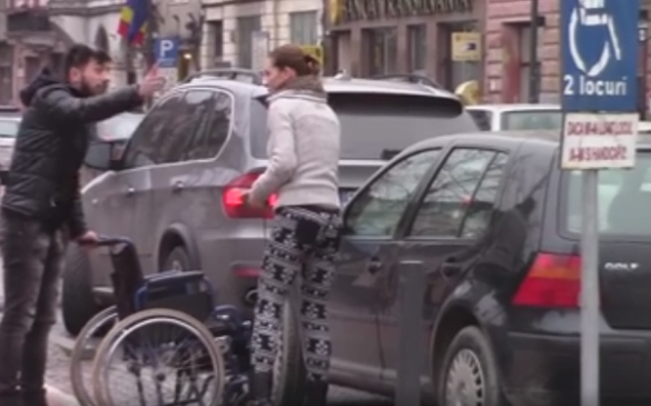 parcare pentru persoane cu dizabilitati