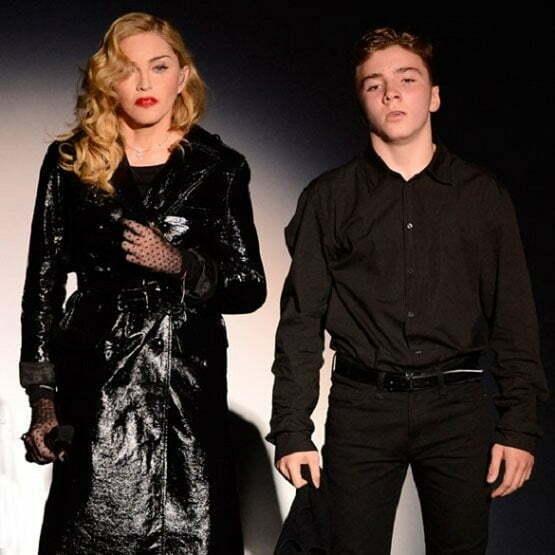 Madonna și fiul
