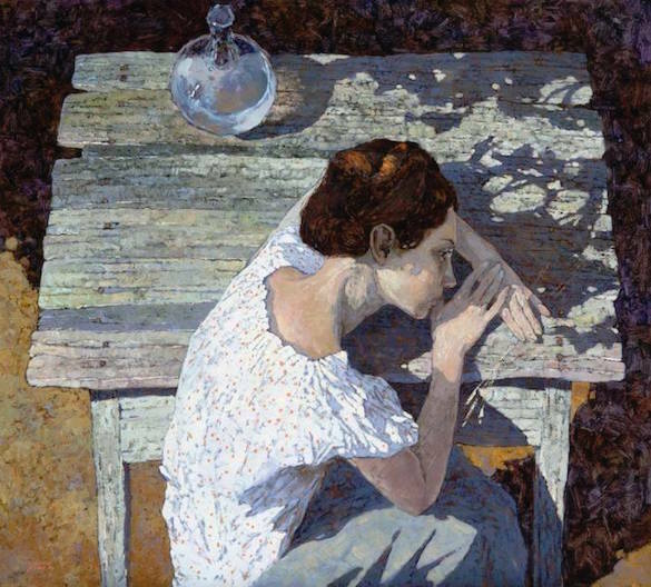 Denis Sarazhin . In The Garden