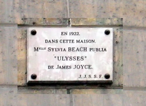 Paris_Rue_de_l_Odeon_12_plaque
