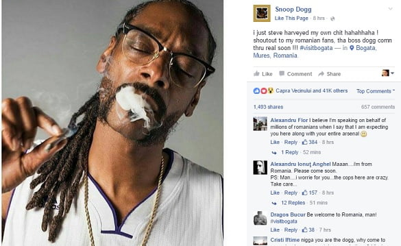 postare noua snoop dogg