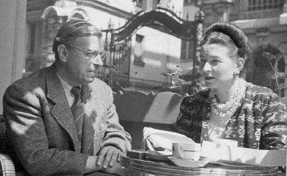 Simone de Beauvoir and John-Paul Sartre