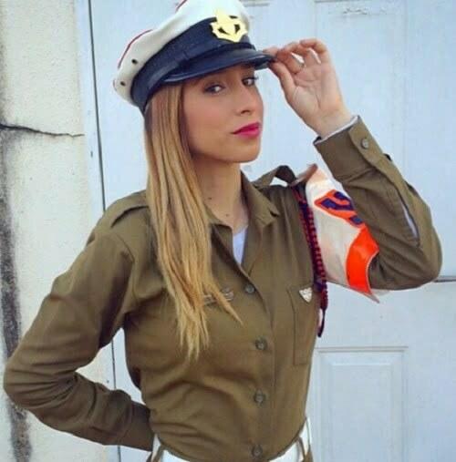 femei soldat israel