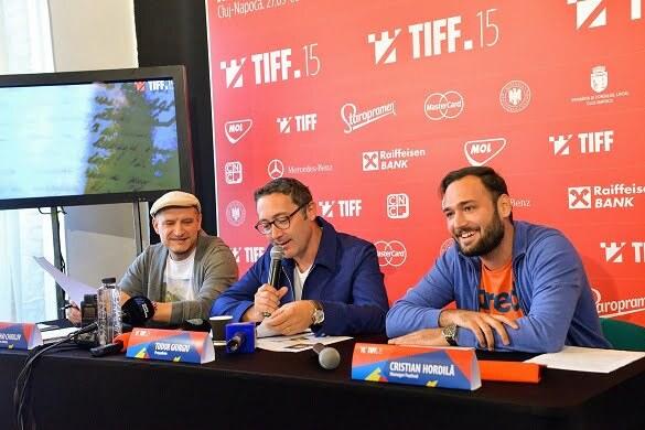Mihai Chirilov-Tudor Giurgiu-Cristian Hordila_Conferinta presa TIFF 2016 - foto Nicu Cherciu