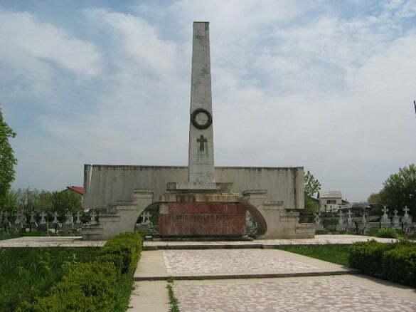 monumentul eroilor focsani