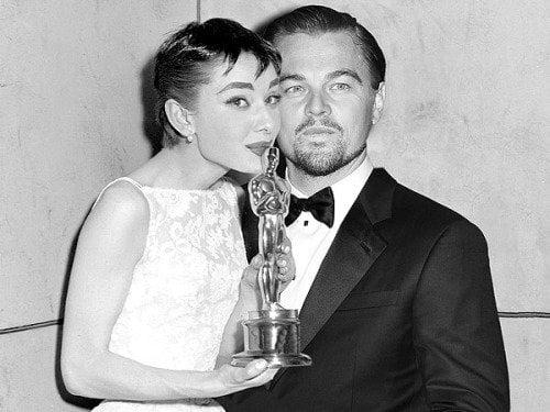 Audrey Hepburn & Leonardo DiCaprio
