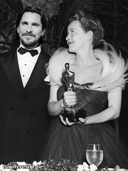 Bette Davis & Christian Bale