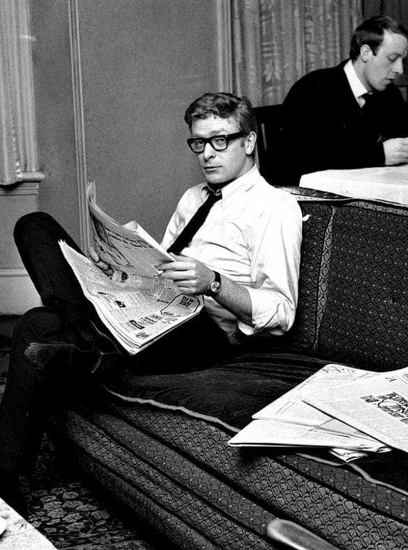 El joven Michael Caine, 1959.