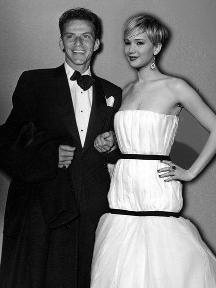 Frank Sinatra & Jennifer Lawrence