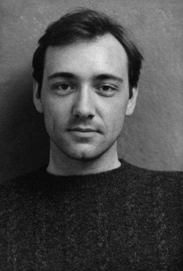 Kevin Spacey de joven, 1980.