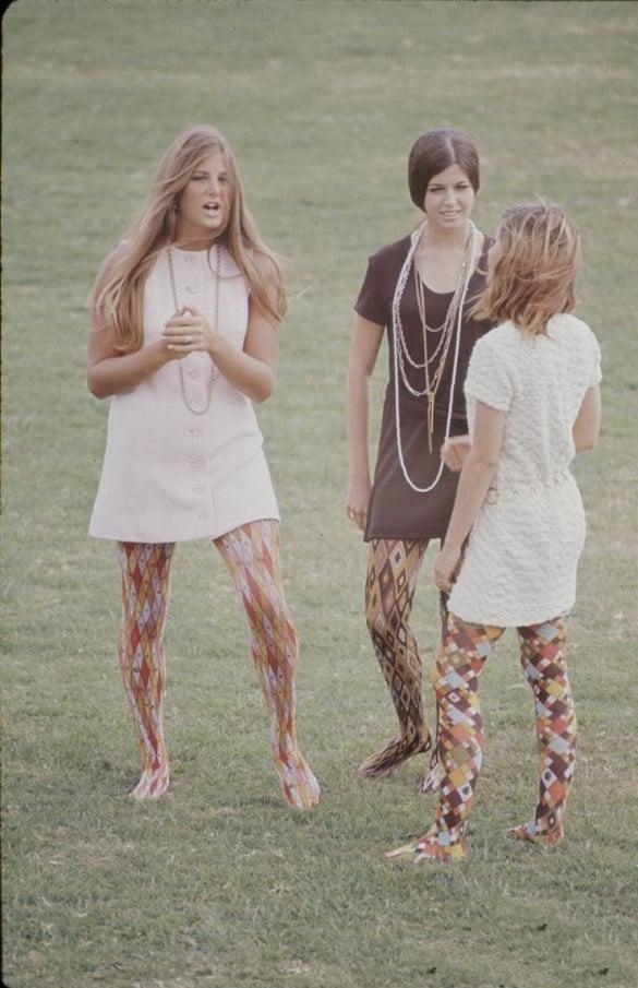 La moda de las secundarias y preparatorias de 1969.