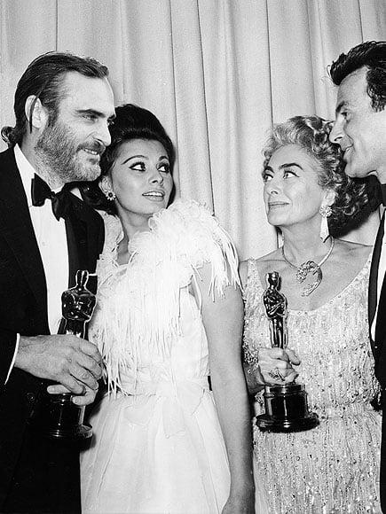 Sophia Loren & Joaquin Phoenix
