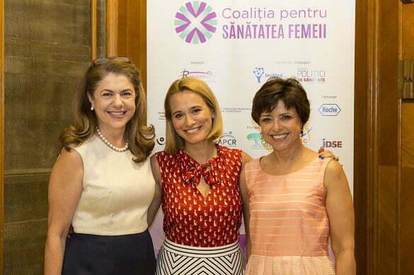 Mihaela Geoana (Presedinte), Andreea Esca (Ambasador), Cristiana Copos (Vicepresedinte)