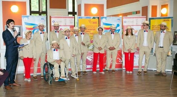 Echipa paralimpica romana
