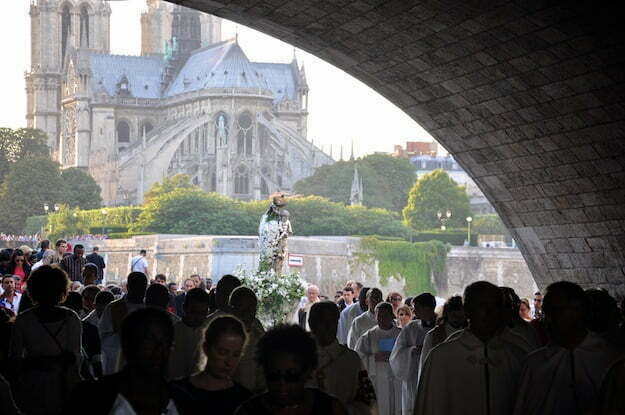 notre dame 15 august