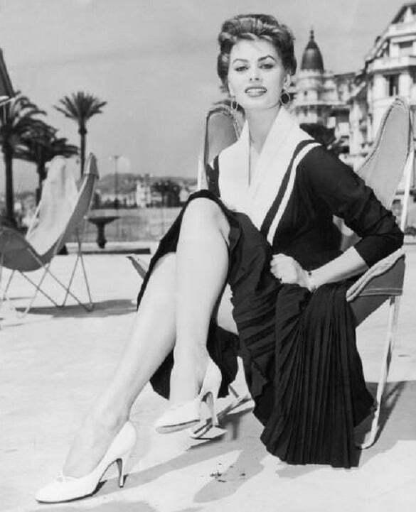 sophia Loren, cannes 1947