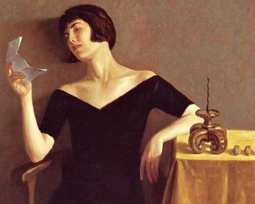 femeie scrisoare