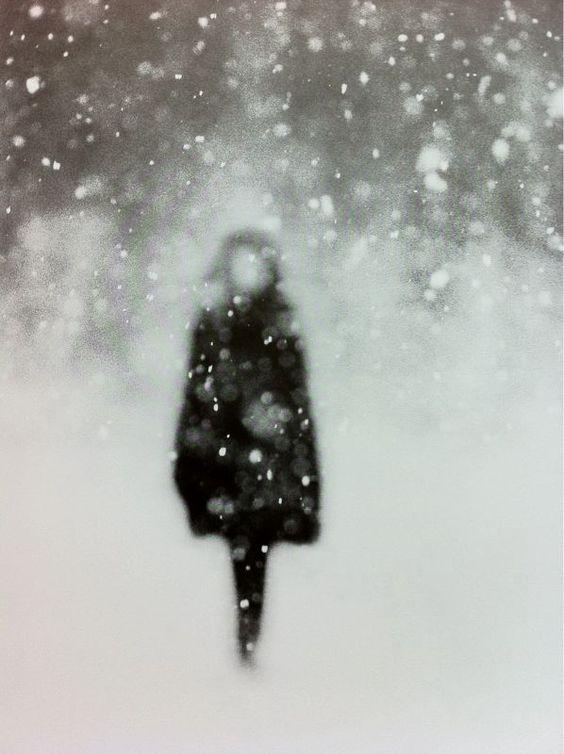 femeie-iarna