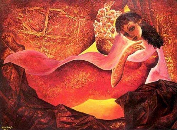 Amrita Sher-Gil - Shringaar - 1935