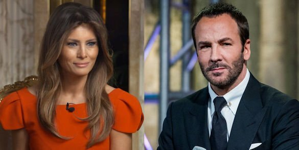 tom ford, melania trump