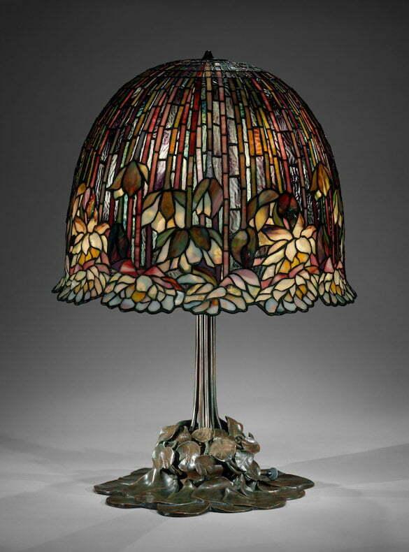 Louis Comfort Tiffany - Lampa cu nuferi (Metropolitan)
